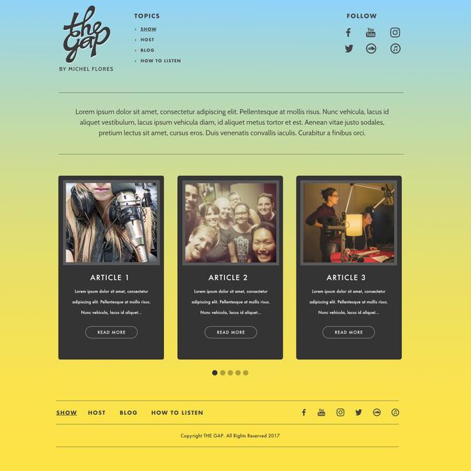 Design vincitore di Cldesignz