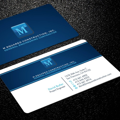 Business card design for underground construction company runner up design by xclusive16 reheart Images