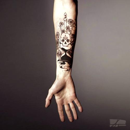 Forearm Tattoo Design Memento Mori Tattoo Contest