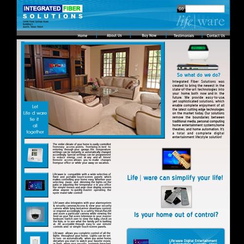 Ontwerp van finalist egzote.com