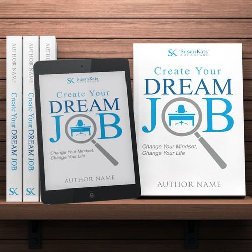 Book Cover Design Jobs : Design a dynamic book cover for business job seekers