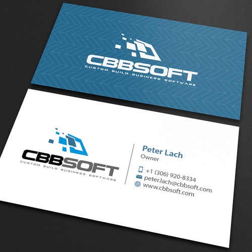 Create a business card design for software development company runner up design by an designer reheart Choice Image