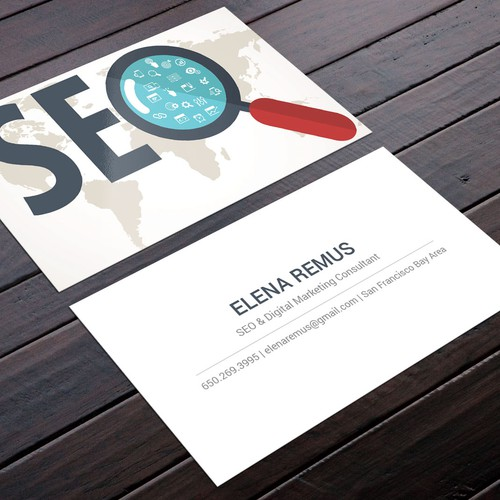 Business Card For A Digital Marketing Consultant Business Card Contest