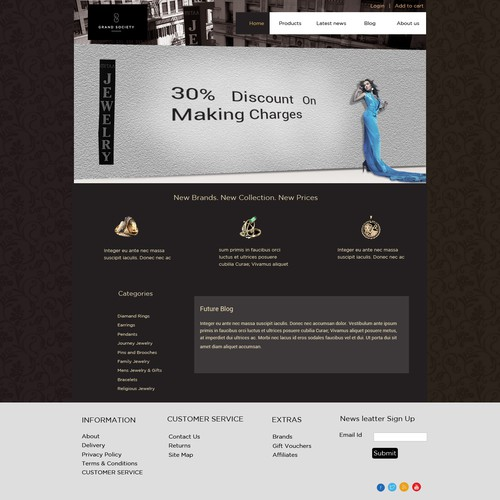 Runner-up design by Designrocks