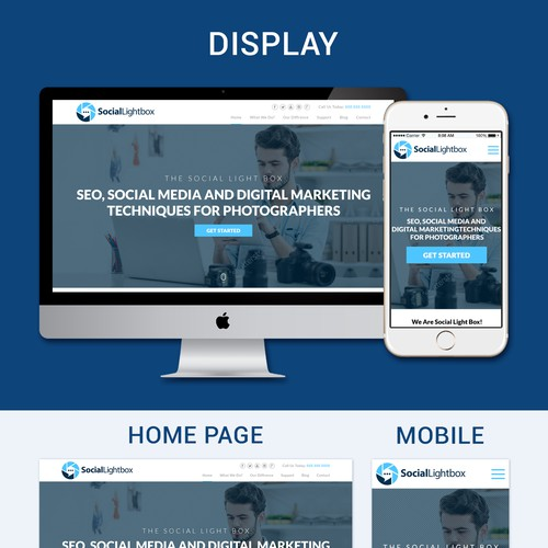 Website Design For Start Company Focused On Services For Photographers Wordpress Theme Design Contest 99designs