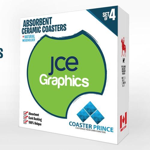 Runner-up design by JCE Graphics