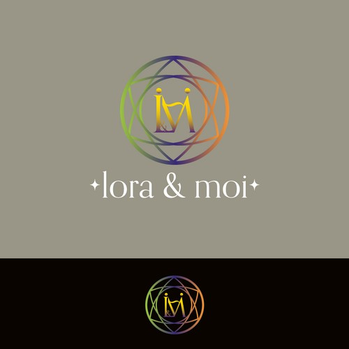 cr u00e9er un logo original pour lora u0026moi