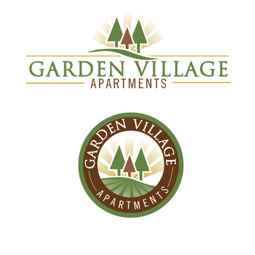 Gardenvillage Apartments: A New, Updated Logo For Garden Village Apartments