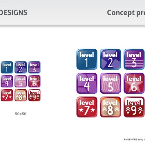Zweitplatziertes Design von F8 Designs