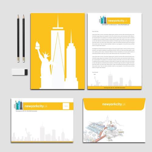 Runner-up design by Nuhan Enterprise IT