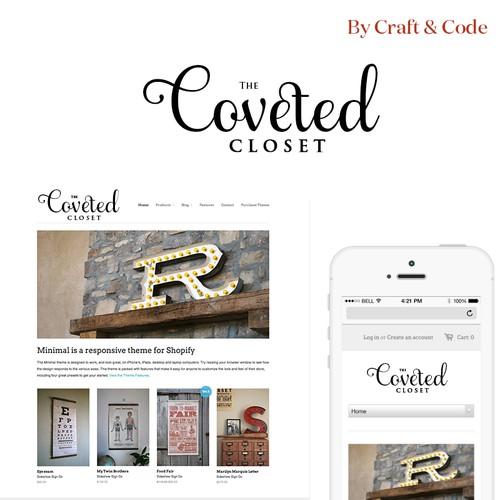 Diseño finalista de craftandcode
