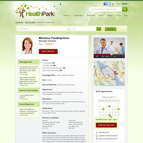 Diseño finalista de DesignMyTemplate.com