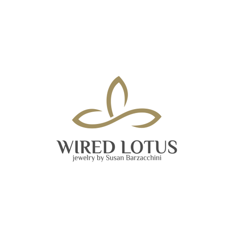 Create a lotus logo for wire jewelry | Logo design contest