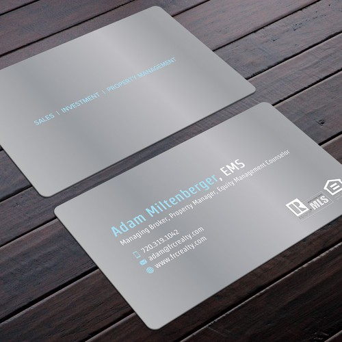 Slick professional business card for investment professionals runner up design by felix sh colourmoves