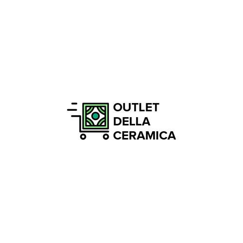Outlet della ceramica, logo che ispiri fiducia, professionalità ed ...