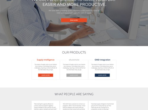 web page design in  - 2
