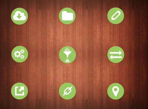 icon or button design in  - 5