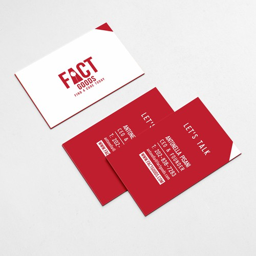 Design A Cool Business Card Thank You