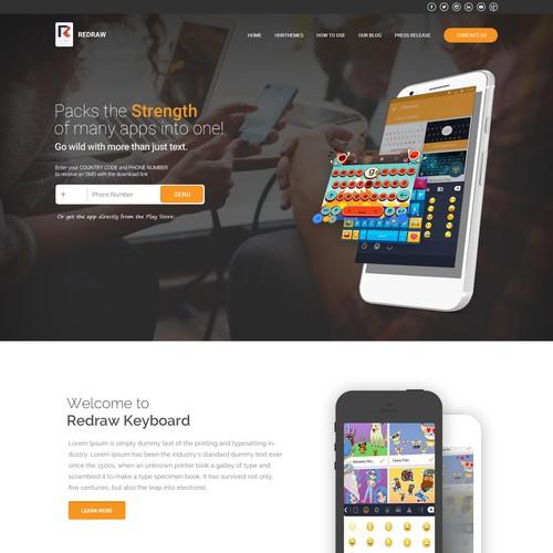 Runner-up design by Webwooter™