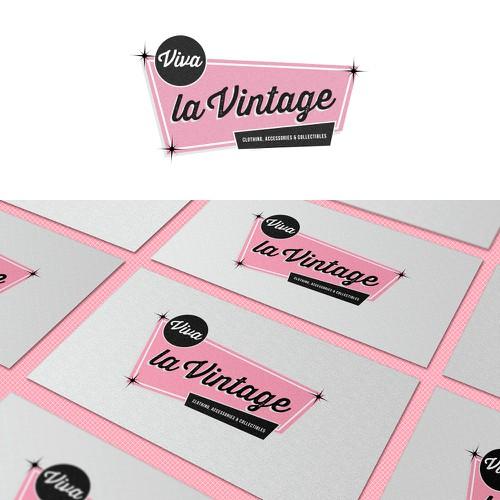 Update logo for Vintage clothing & collectibles retailer for Viva la Vintage Design by eatsleepbreathe.design