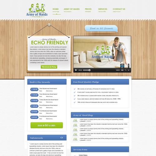 Diseño finalista de Delegate2Win.org