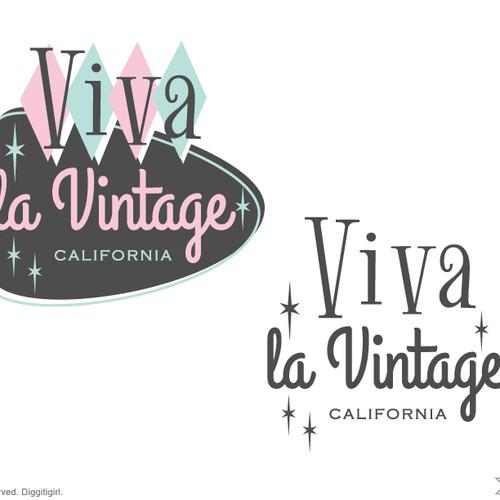 Update logo for Vintage clothing & collectibles retailer for Viva la Vintage Design by Diggitigirl ♥
