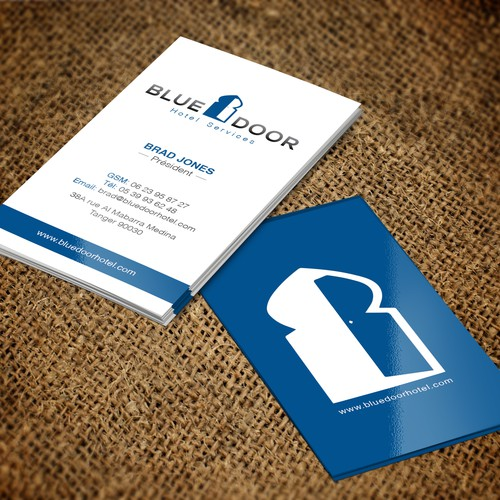 Design a good looking business card with existing logo business runner up design by florin ralea colourmoves