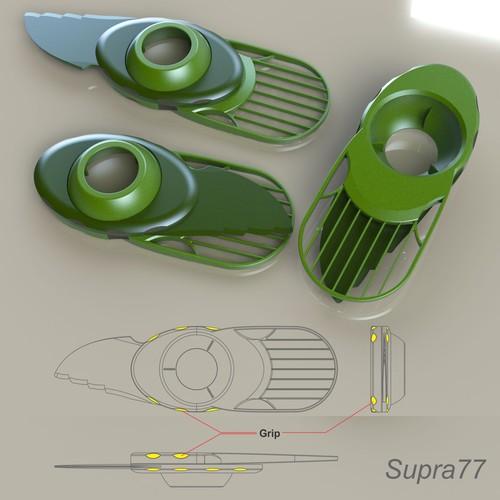 Diseño finalista de supra77