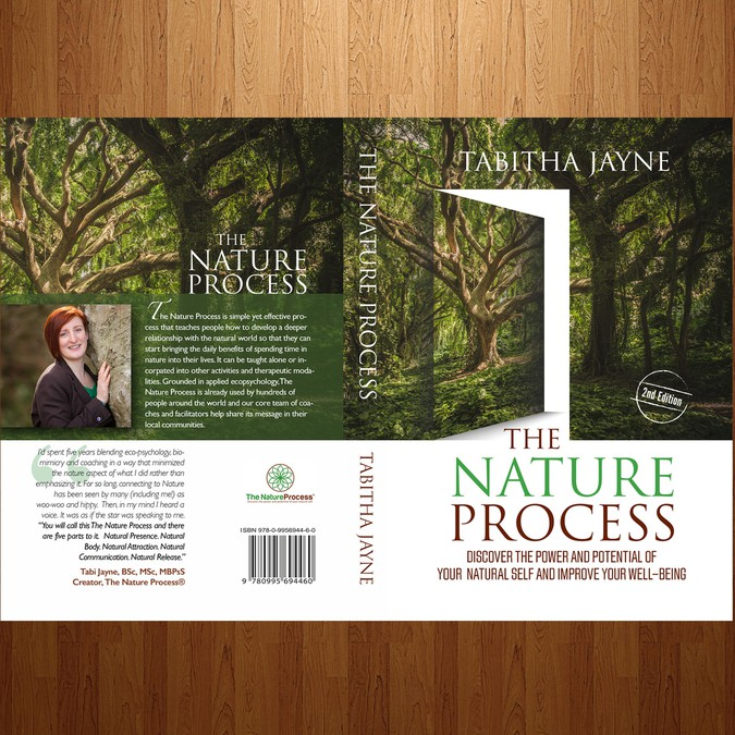 Nature Book Cover Design : Create a clean and fresh book cover for the nature process