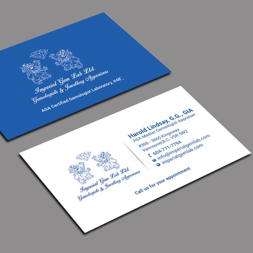 Design a professional looking business card that invites action runner up design by design abc colourmoves