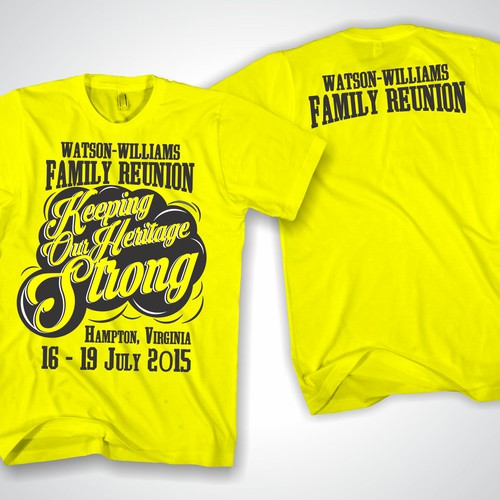 a9d28e48e Create an amazing and vivid family reunion logo for t-shirts, bags ...