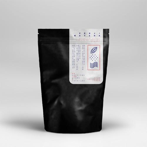 Japanese Matcha Product Needs Label - *GUARANTEED & BLIND* Design by O I O O I  I O I