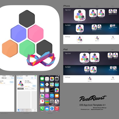 Runner-up design by Clicky