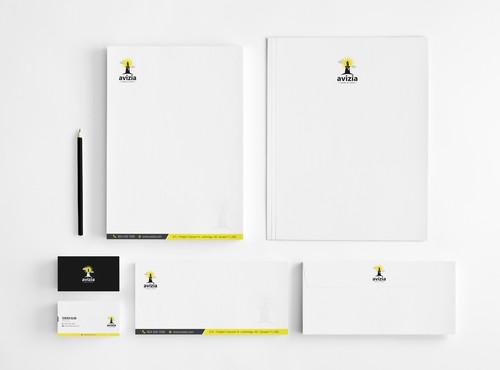 stationery design in London - 1