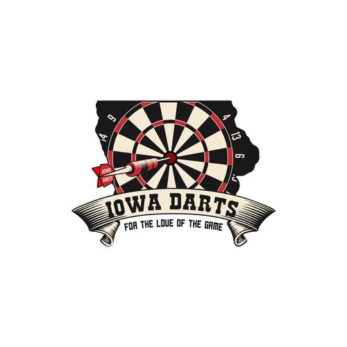 Create A Standout Logo For A Competitive Dart League Logo Ontwerp