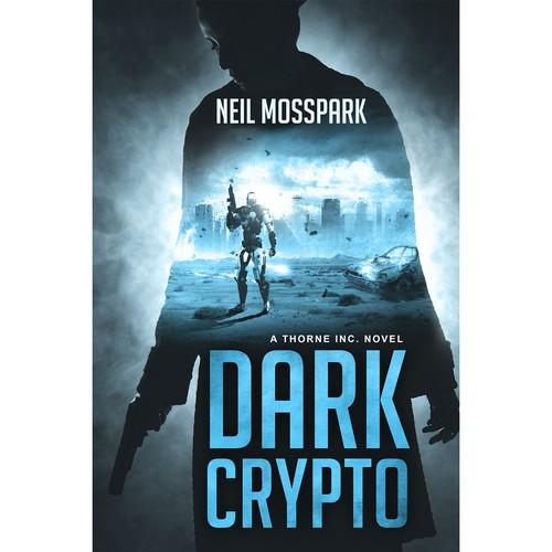 Kindle Book Cover Design : Cyberpunk technothriller needs a kindle cover designer