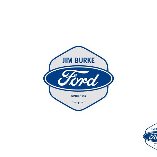 Jim Burke Ford >> Jim Burke Ford Logo Logo Design Contest