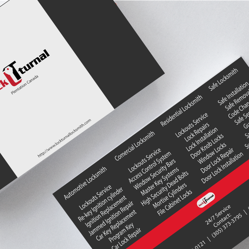Business card design for local locksmith company have fun with it runner up design by manguden colourmoves Choice Image
