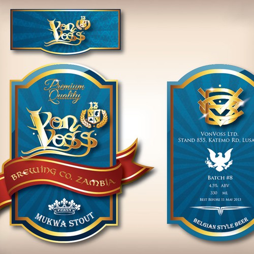 Runner-up design by Designotion