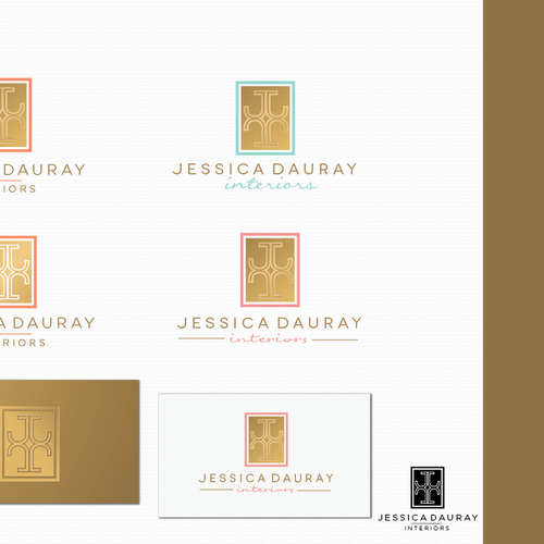 Interior Design Firm Rebranding Logo Brand Identity Pack Contest 99designs