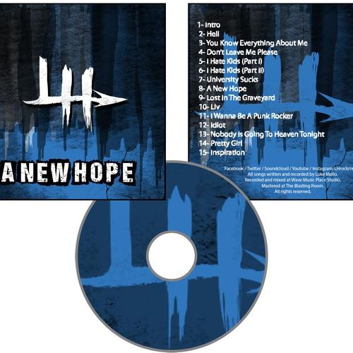 Lh Punk Rock Band Alternativ rock Hardcore Hardrock Album Cover, Bagside og Cd-2984