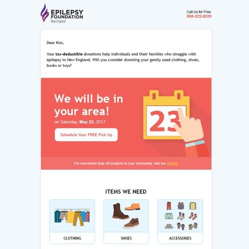 Runner-up design by MailDesigner
