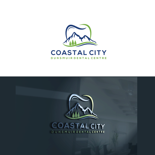Design a modern, minimalist and timeless logo for a Downtown