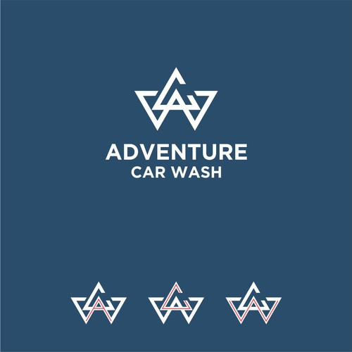 Design a cool and modern logo for an automatic car wash company Design by gaTel™ bestroyer