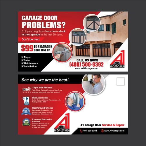 6 Creative Garage Design Ideas: Create A 11 X 6 Garage Door Flyer