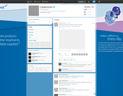 Twitter background design by SRSgraphicdesign