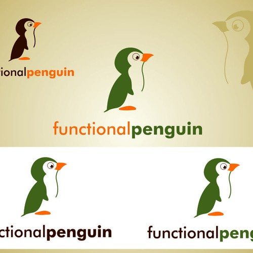 Functional Penguin needs a new logo Design by A.KAYA