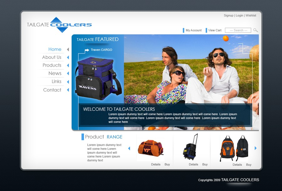 Gewinner-Design von Expert-Hand