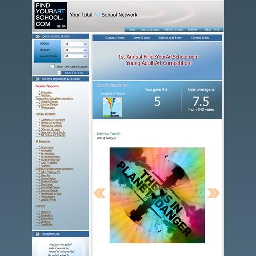 Ontwerp van finalist GlobalVisionA