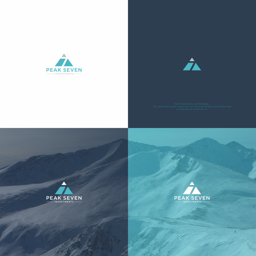 luxury mountain real estate logo needed ロゴデザインコンペ